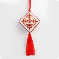 Вышивка оберег со славянским символом Духовная сила