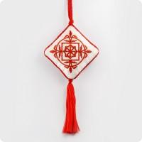Вышивка оберег со славянским символом Молвинец